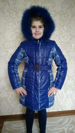Зимний пуховик пальто известного бренда Danilo