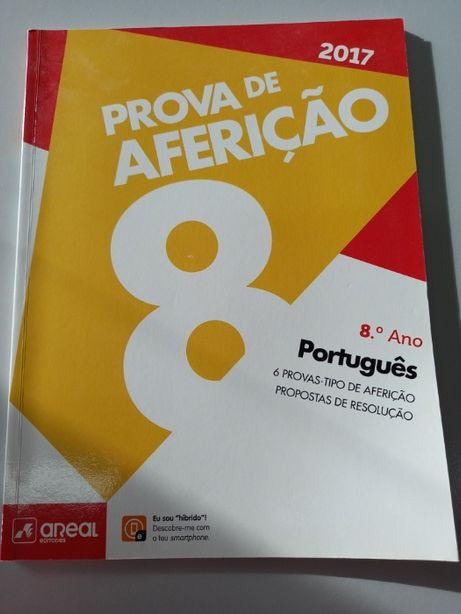 Português 8º Ano - Prova de Aferição (portes incluidos)