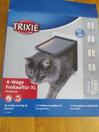 Trixie drzwiczki dla kota XL plus tunele