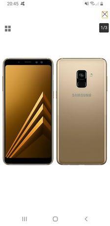 Samsung a8 2018 wodoodporny jak nowy żadnych uszkodzeń