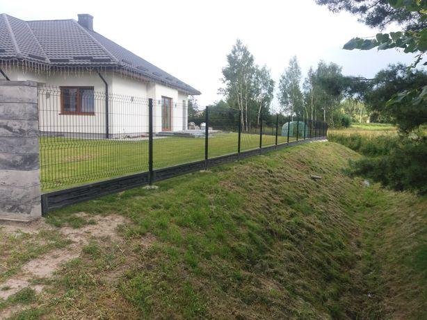 Ogrodzenia Montaż ogrodzeń Panelowych