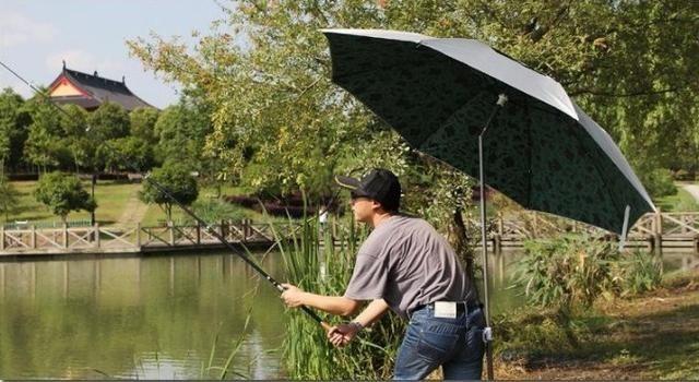 Зонт-рыбак, зонт для рыбалки с наклоном, клапаном, УФ-защитой, новые.
