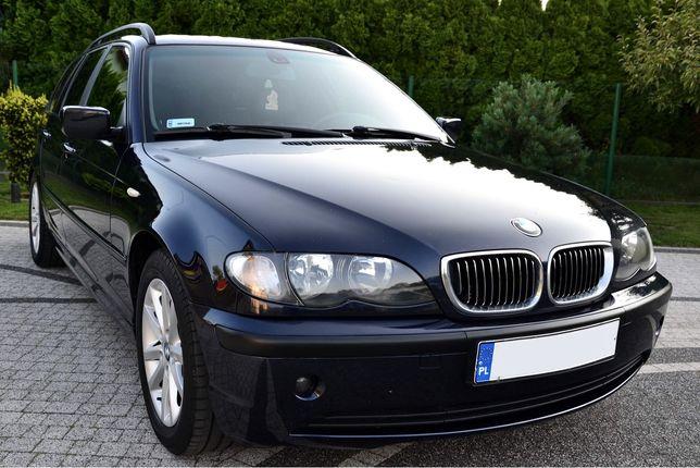BMW e46 lift 04r 1.8b gaz sekwencja M Pakiet Skóra klimatyzacja LPG