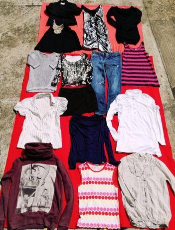 Ciuchy XS Orsay, Zara, Benetton, Mohito, Lee i inne
