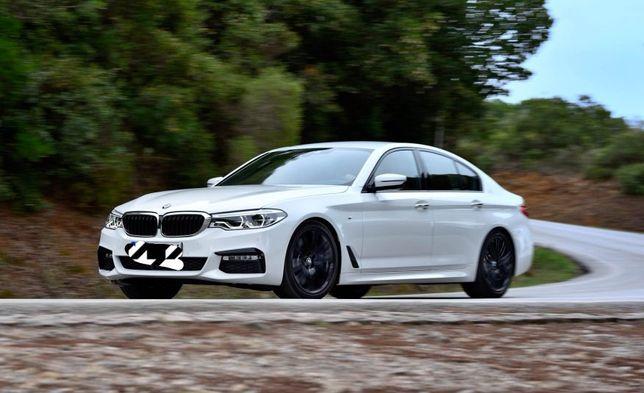 BMW 520d M-Pakiet G30 - Wynajem Wypożyczalnia Samochodów Aut Poznań