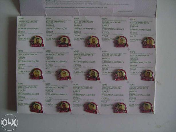 Pins da selecção nacional Portuguesa