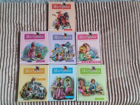 Seria książek Martynka 7 książek