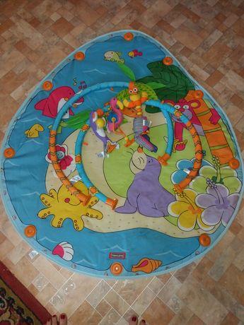 Децкий развивающий коврик