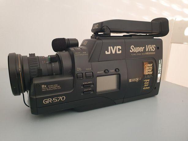 Máquina de filmar JVC GR-S70 em ótimo estado c/acessórios