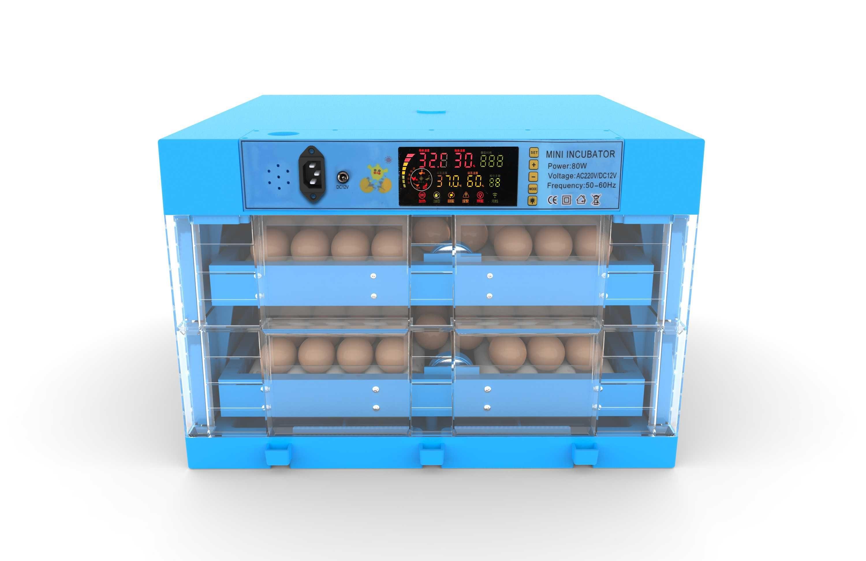 chocadeira 128 ovos, viragem por rolos (novo modelo)