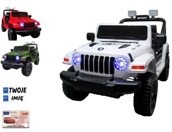 Auto na Akumulator Jeep RX10 Ekoskóra Amortyzatory HIT