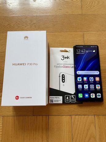 Huawei p30 pro sprawny delikatnie uszkodzony wyświetlacz