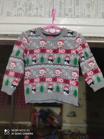 Новогодний свитерок 2-3 года