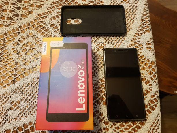 Lenovo K6 NOTE + etui