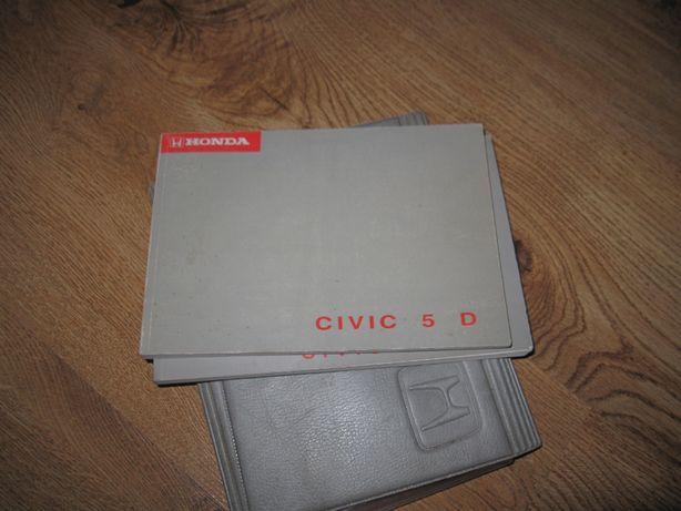 Instrukcja obsługi książka Honda Civic VI