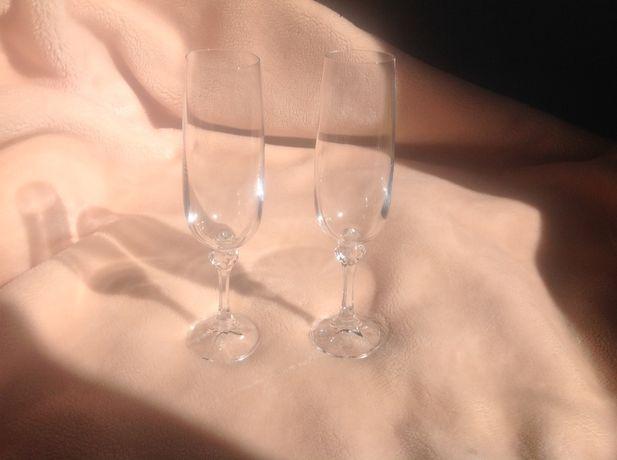 Бокалы для шампанского BOHEMIA хрустальные