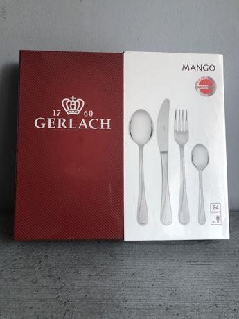 Nowy zestaw Sztucce komplet sztuccow gerlach mango 24 szt