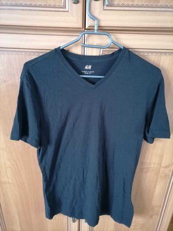 Koszulka męska czarna rozmiar xl