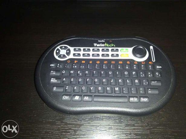 Teclado e Rato Wireless Bluetooth Portable (Palm Style Keyboard USB)