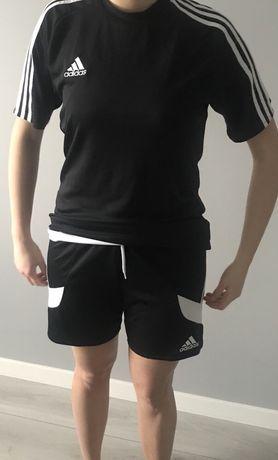 Adidas zestaw koszulka + spodenki