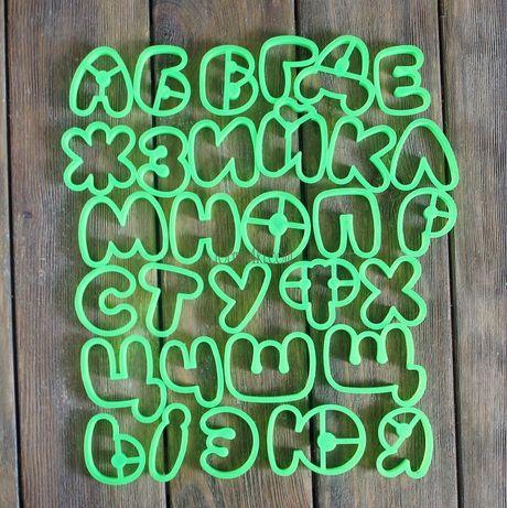 Форма для пряников «Алфавит»