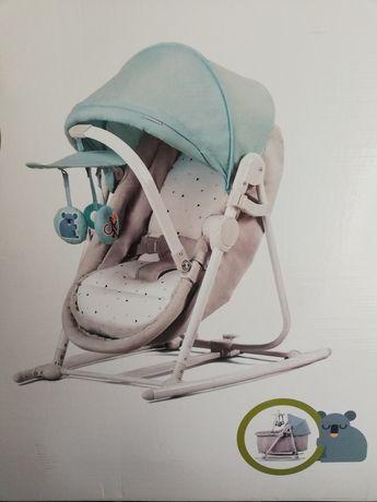 Bujaczek leżaczek kołyska UNIMO 5w1