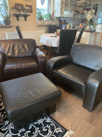 Almi Decor 2 fotele + 1 pufa