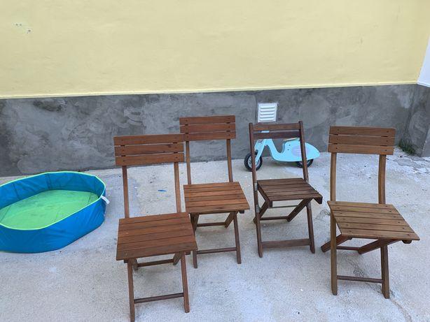 OPORTUNIDADE!! cadeiras de jardim