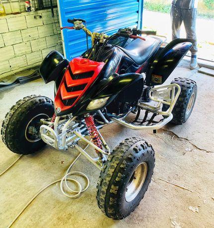Vendo moto 4 raptor 660r