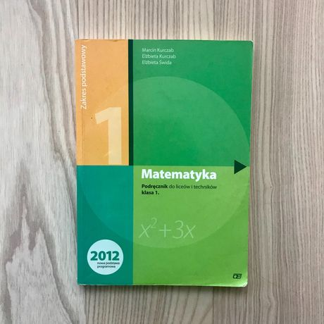 Podręcznik matematyka liceum oficyna edukacyjna 1