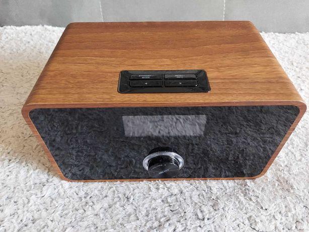 Radio cyfrowe Bluetooth UKF AUNA DABSTEP DAB/DAB+  Nowe obudowa orzech