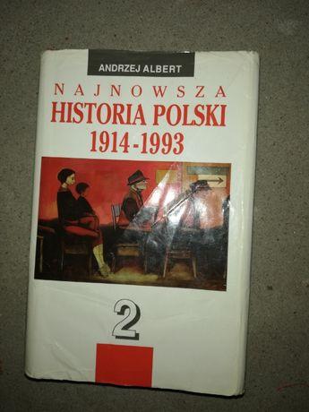 !!!OKAZJA!!Historia Polski Andrzej Albert cz.2
