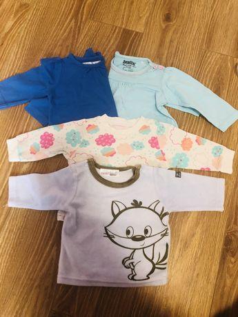Bluzeczki dla dziewczynki 4 sztuki