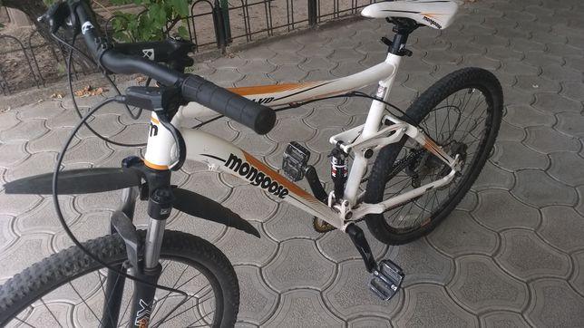 Продаю велосипед двухподвес Mongoose