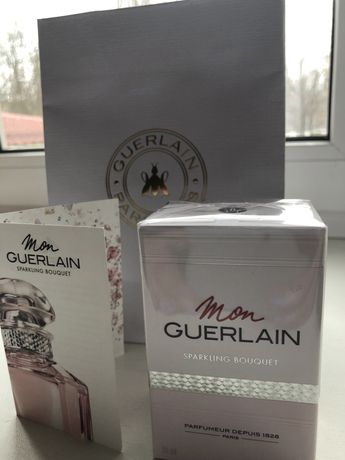 Новые духи из Brocard Mon Guerlain Sparkling Bouquet Guerlain