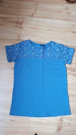 NOWA bluzka,kolor- baby blue+gratis!