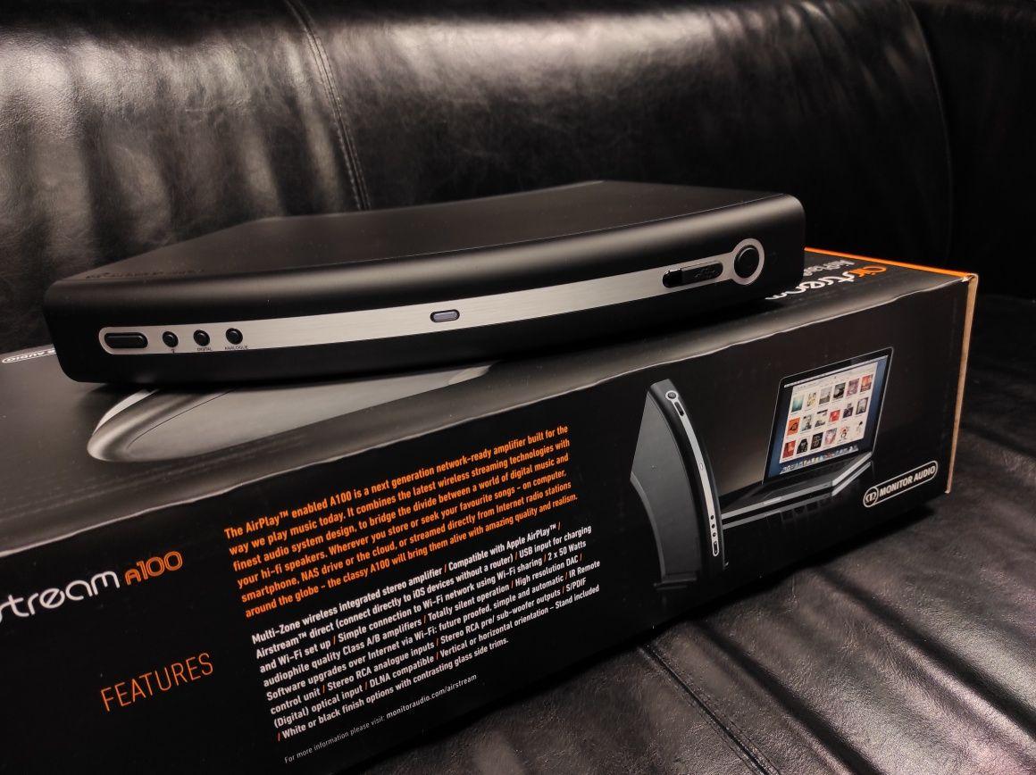 Air Stream A100 Monitor Audio airstream wzmacniacz stereo Trans Audio