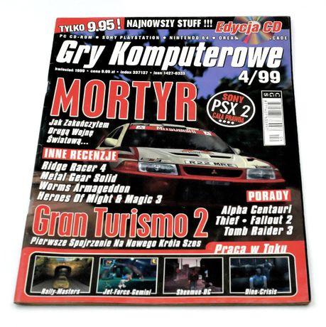 Gry Komputerowe 4/99 - czasopismo