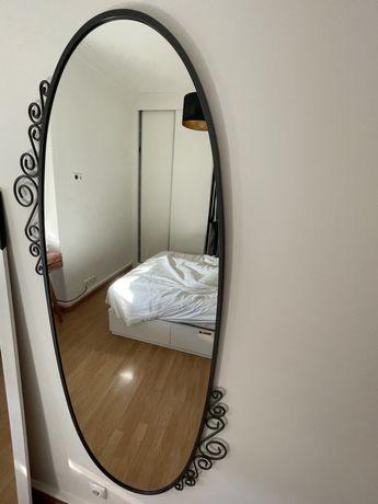 Vendo espelho EKNE IKEA oval 70x150cm