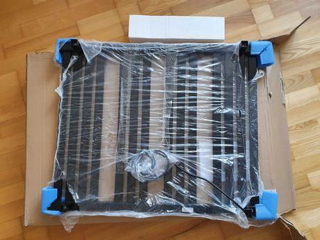 NOWY grzejnik elektryczny - Terma Marlin One 780x630, czarny - OKAZJA!