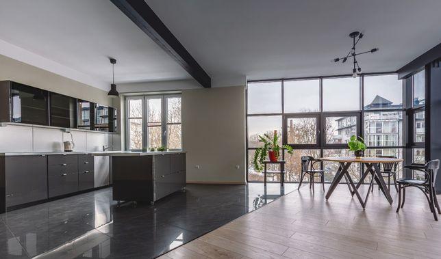 Apartament 80m/2 -typu Loft - duze przeszklenia