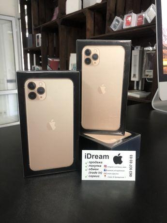 Apple iPhone 11 Pro Max 64 gb Gold DualSim (2- Sim ) НОВЫЕ! ГАРАНТИЯ!