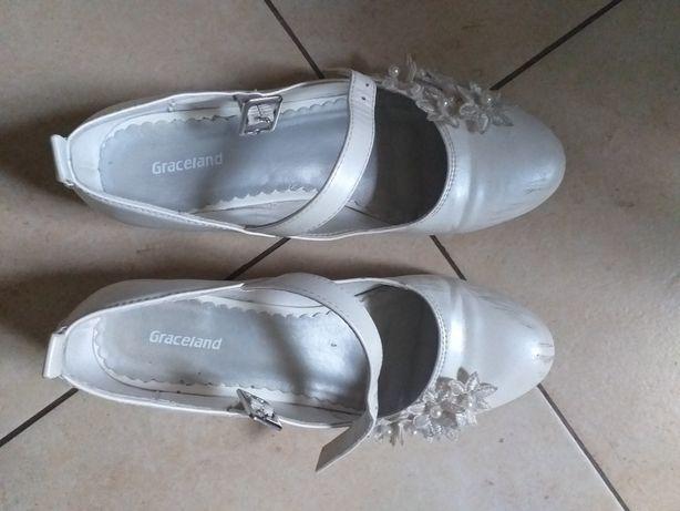 Buty dla dziewczynki komunia rozmiar 35
