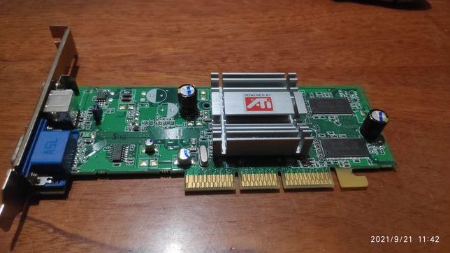 Видеокарта Radeon 9200SE 64mb AGP