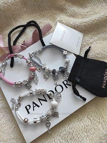 Браслеты и наборы шармов Pandora Пандора в оригинальной упаковке