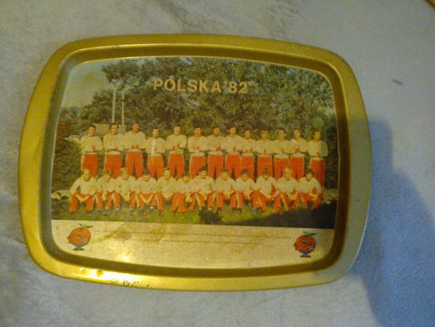 Reprezentacja Polski Hiszpania 1982. tacka