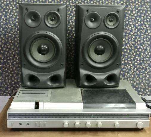 Philips 1231/90 Rádio Gira-Discos Cassetes 50w