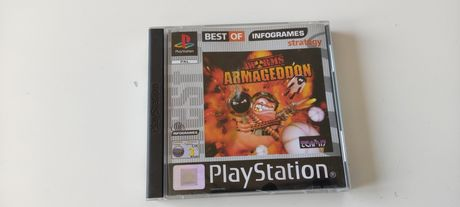Worms Armageddon PlayStation One PSX