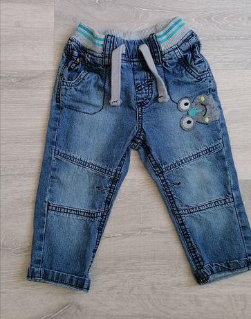 Spodnie chłopięce jeansy. Rozmiar 86
