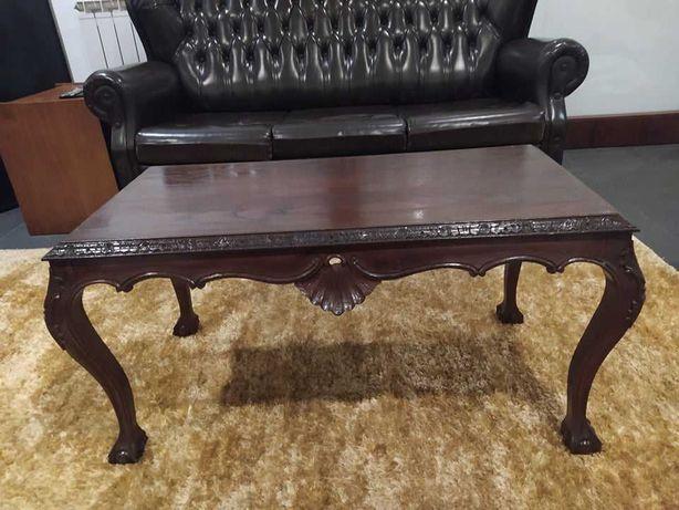 Mesa de centro / canto madeira vintage antiga
